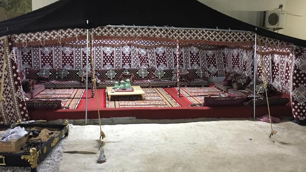 تنظيف خيام بيت شعر ابوظبي